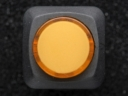 A1444 16mm-es világító nyomókapcsoló - sárga