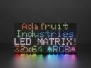 A2277 64x32 RGB LED Matrix - 5mm pitch