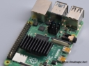 Raspberry Pi 4 hűtőbordákkal szerelve