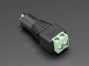 A368 DC tápcsatlakozó adapter - 2.1mm jack/sorkapocs