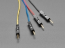 A4209 STEMMA QT / Qwiic JST SH 4-pin papa Jumper kábel 150mm