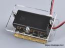 BBC micro:bit plexi shield hátoldala