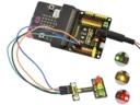 KS 37 in 1 szenzor készletből micro:bit-tel jelzőlámpa vezérlés