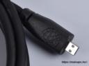Raspberry Pi Official 1m micro-HDMI / HDMI A kábel, fekete