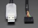 A70 FTDI Soros TTL-232 USB kábel