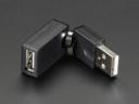 A974 Flexibilis USB forgó adapter csatlakozó