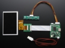A1928 HDMI 4 Pi 5 inch 800x480 TFT + mini driver
