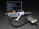 A2397 HDMI 4 Pi 7 inch 1024x600 Touchscreen Display & Audio
