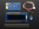 A784 USB + Serial Backpack Kit with 16x2 RGB backlight