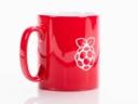 Raspberry Pi bögre - Piros