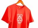 Raspberry Pi póló S - Piros