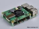Raspberry Pi PoE+ HAT felszerelve egy alaplapra