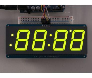 A1268 1.2 inch 4-Digit 7-Segm. Display w/I2C Backpack -Green