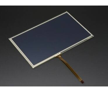 A1676 Resistive Touchscreen Overlay - 7 inch 165x105mm
