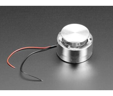A1784 Large Surface Transducer with Wires - 4 Ohm 5 Watt