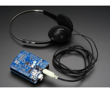 A1790 Music Maker MP3 Shield for Arduino (MP3/Ogg/WAV...)