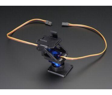 A1967 mini Pan-Tilt KIT micro szervókkal szerelve