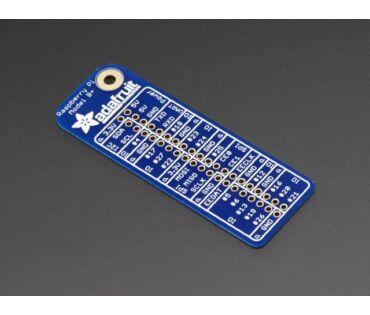 A2263 Raspberry Pi GPIO 40-es referencia kártya
