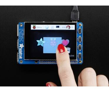 A2423 PiTFT Plus 320x240 2.8 inch TFT+Capacitive Touchscreen