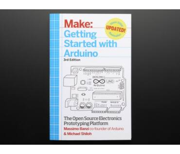 Getting Started with Arduino By Massimo Banzi 3rd - könyv