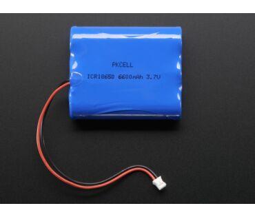 A353 Li-Ion Battery Pack - 3.7V 6600mAh