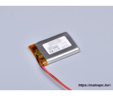 Li-Polymer akku 3.7V 550mAh 5.0x30x40mm