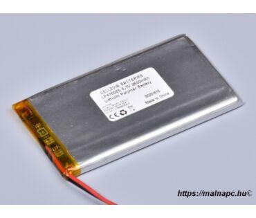 Li-Polymer akku 3.7V 2500mAh 4.7x50x85mm