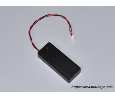 Micro:bit-hez kapcsolós elemtartó 2xAAA