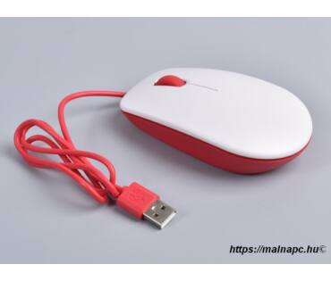 Raspberry Pi Official Mouse RED/WHT