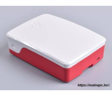 Official Raspberry Pi 4 case RED/WHT