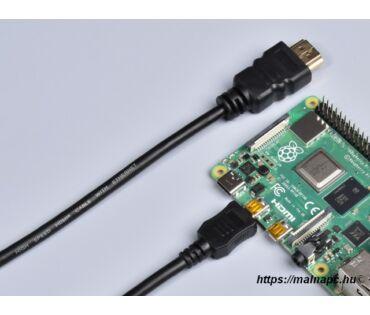 Kábel HDMI-HDMI micro 1,5m-es