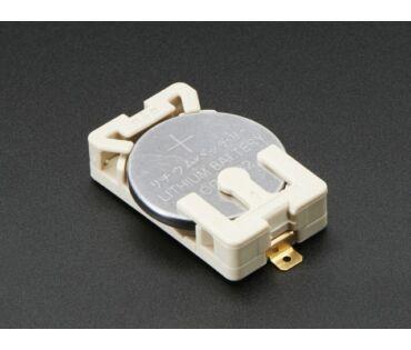 A653 Felvarrható elemtartó CR2032-es elemhez