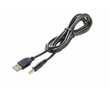 Sunny kábel 2.1x5.5-ös dugó - USB 1.5m