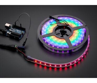 A1138 NeoPixel RGB LED Szalag - fehér 60 LED - 1m
