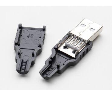 A1387 USB-A szerelhető lengő csatlakozó dugó
