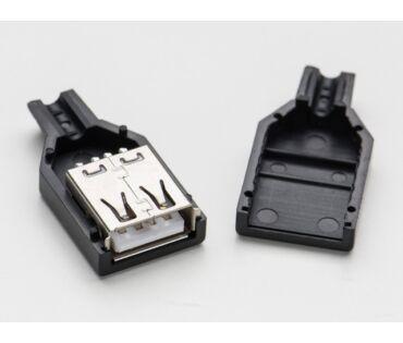 A1388 USB-A szerelhető lengő csatlakozó aljzat