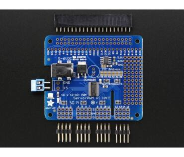 A2327 16-channel PWM /Servo HAT for Raspberry Pi