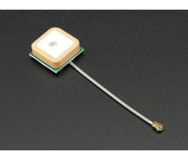 A2461 Passive GPS Antenna uFL - 15x15mm 1dBi gain