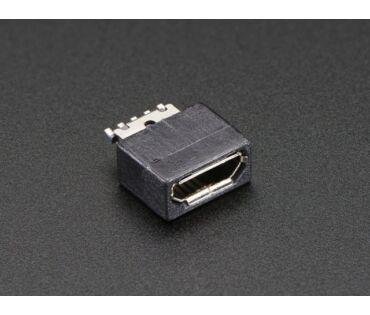 A1829 USB-B Micro csatlakozó aljzat