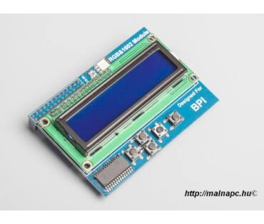 Banana Pi LCD1602 display modul