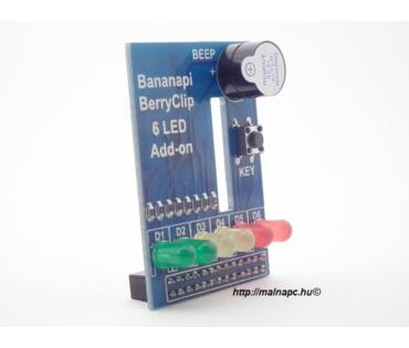 Banana Pi berryclip 6LED panel