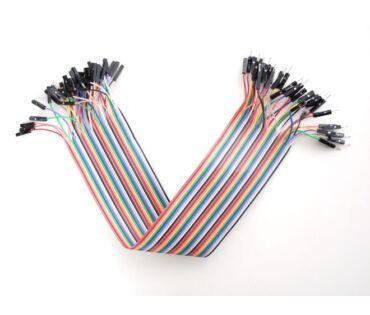 A824 Prémium jumper kábel 300mm mama-papa