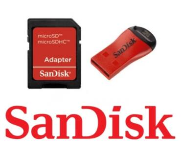 Sandisk MobileMate DUO - USB microSD író/olvasó/SD adapter