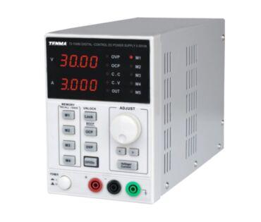 Tenma 72-10480 digitális labortápegység 1Ch 30V 3A