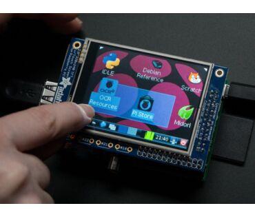 A1601 PiTFT 320x240 2,8 inch Touchscreen TFT RPI-hez