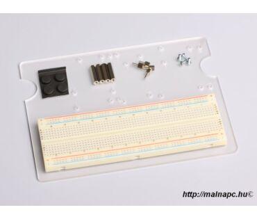 Uni-Pi szerelőlap 170x55-ös próbapanellel