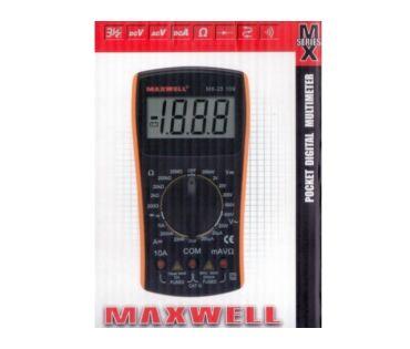 Kéziműszer MX25109 Digit műszer (600V 10A)