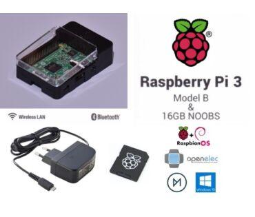 Raspberry Pi 3 Quad Core Suli KIT