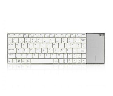 Rapoo E2710 Blade fehér touchpad+HUN bill.
