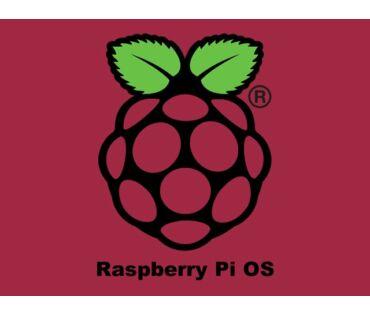 Raspberry Pi OS (Debian Linux) op.rendszer 16GB
